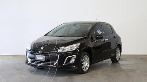 Peugeot 308 Active usado (2015) color Negro Perla precio $1.330.000