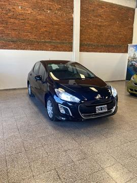 Peugeot 308 Active usado (2014) color Negro Perla financiado en cuotas(anticipo $550.000)