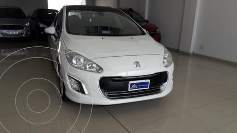 Peugeot 308 Allure NAV usado (2013) color Blanco Banquise financiado en cuotas(anticipo $850.000)