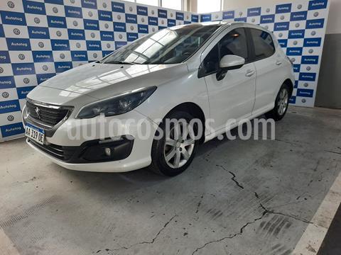 Peugeot 308 Allure NAV usado (2016) color Blanco Nacre precio $1.240.000