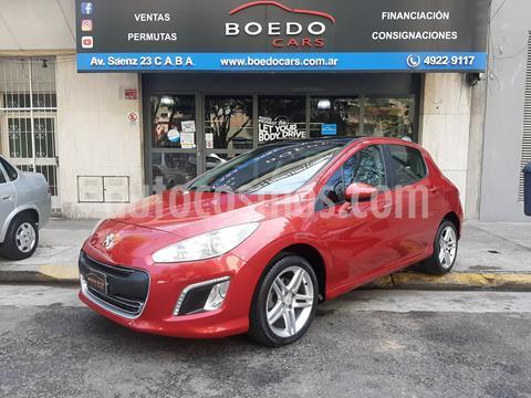 Peugeot 308 Feline HDi usado (2013) color Rojo precio $1.100.000