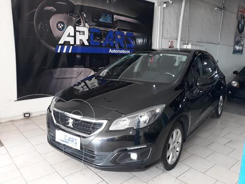 Peugeot 308 Allure usado (2016) color Negro Perla financiado en cuotas(anticipo $1.200.000)