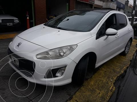 Peugeot 308 Allure HDi NAV usado (2013) color Blanco Banquise precio $1.390.000