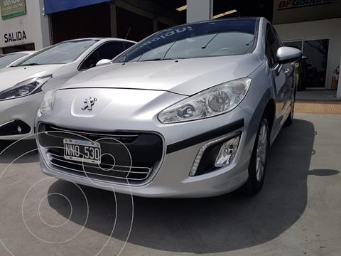 Peugeot 308 Allure NAV usado (2014) color Gris Aluminium financiado en cuotas(anticipo $672.000)