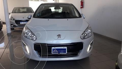 Peugeot 308 Allure NAV usado (2014) color Blanco Banquise financiado en cuotas(anticipo $790.000)