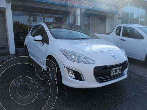 Peugeot 308 Sport usado (2013) color Blanco Banquise financiado en cuotas(anticipo $595.000)
