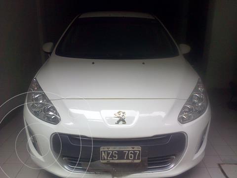 Peugeot 308 Active HDi 2014/5 usado (2014) color Blanco Banquise precio $1.140.000