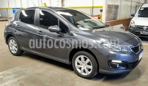 Peugeot 308 5Ptas. 1.6 16v Active (115cv) usado (2016) color Gris Oscuro precio $1.400.000