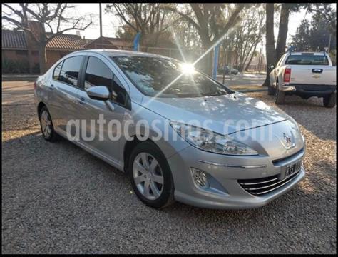 Peugeot 408 Allure 2014/15 usado (2012) color Gris Claro precio $830.000