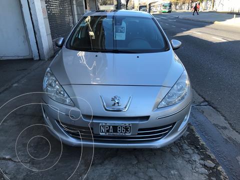 Peugeot 408 1.6 Hdi Allure  Nav usado (2014) color Gris Plata  precio $1.120.000