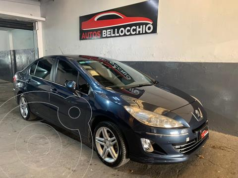 Peugeot 408 Feline usado (2011) color Azul financiado en cuotas(anticipo $600.000)