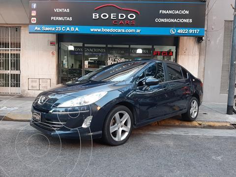 Peugeot 408 Feline 1.6 HDi MT (115cv) 4Ptas. usado (2013) color Azul precio $1.199.000