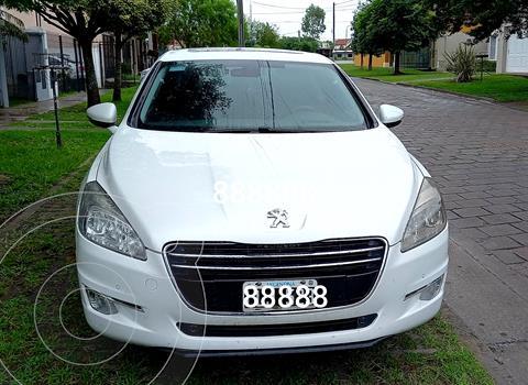 Peugeot 508 Feline 1.6 usado (2012) color Blanco Nacarado precio $1.400.000