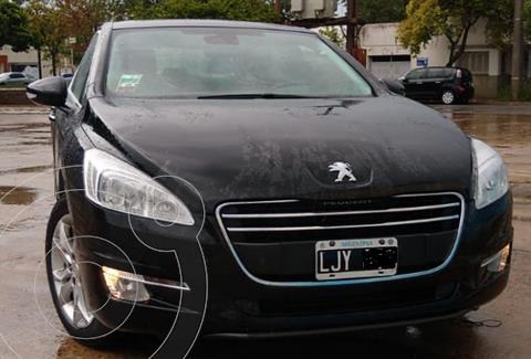 Peugeot 508 Feline 1.6 usado (2012) color Negro precio $1.500.000