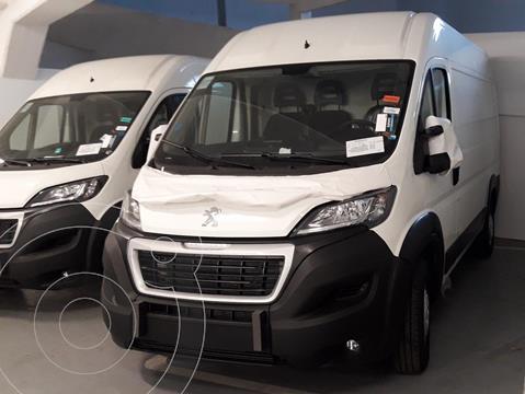 Peugeot Boxer 2.2 HDi 435LH Premium nuevo color Blanco Banquise precio $4.100.200