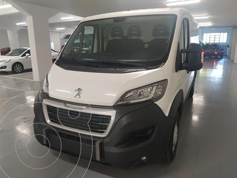 Peugeot Boxer Furgon 2.2 HDi 435M Premium nuevo color Blanco Banquise precio $3.961.200