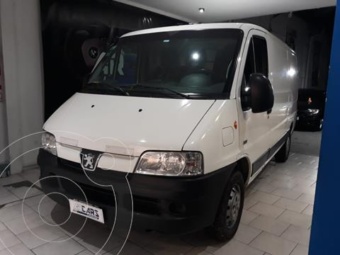 Peugeot Boxer Furgon 330 M 2.3 HDi Confort usado (2014) color Blanco Banquise financiado en cuotas(anticipo $1.600.000)