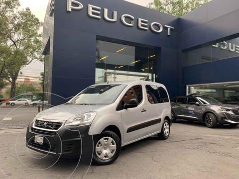 Peugeot Partner 1.6L  usado (2018) color Plata precio $224,900
