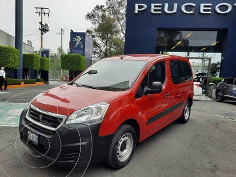 Peugeot Partner 1.6L  usado (2018) color Rojo precio $224,900