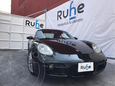 Porsche 718 Cayman 2.0L usado (2007) color Negro precio $680,000