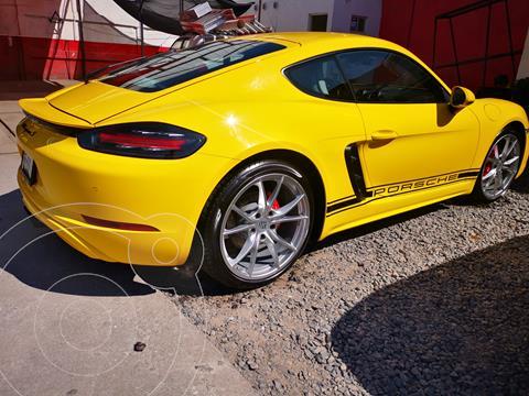 Porsche 718 Cayman S PDK usado (2017) color Amarillo precio $1,290,000