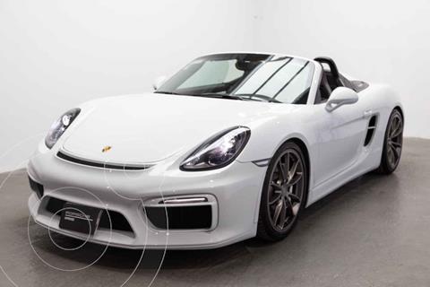 Porsche Boxster Spyder 3.4L PDK usado (2016) color Blanco precio $1,600,000