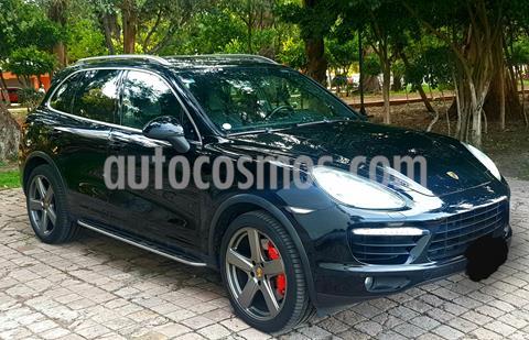 Porsche Cayenne Turbo Tiptronic  usado (2012) color Negro precio $580,000