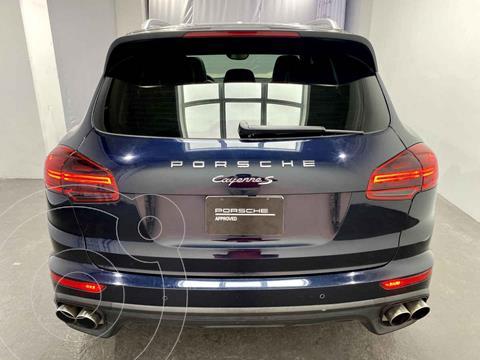 Porsche Cayenne S Tiptronic usado (2016) color Azul precio $785,000