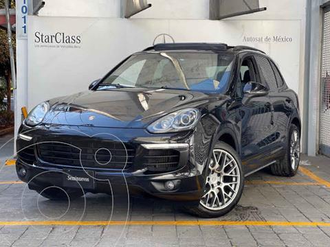 Porsche Cayenne  S usado (2015) color Negro precio $680,000