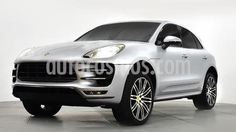 Porsche Macan Turbo usado (2015) color Plata Dorado precio $680,000