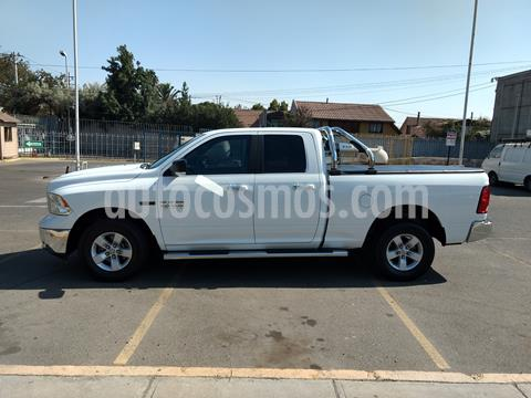 RAM 1500  SLT Quad Cab usado (2018) color Blanco precio $28.200.000