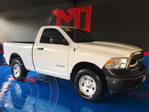 RAM 1500 SLT 1500 Crew Cab Trabajo 3.6L Aut 8 vel 4x4 usado (2020) color Blanco precio $529,500