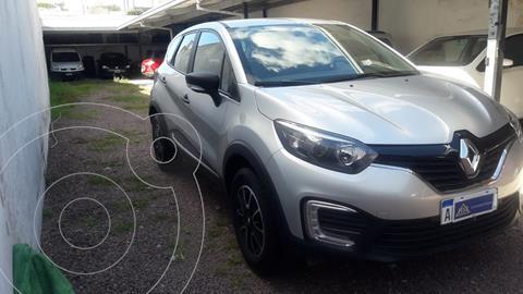 Renault Captur Life usado (2020) color Gris Acero financiado en cuotas(anticipo $1.490.000)