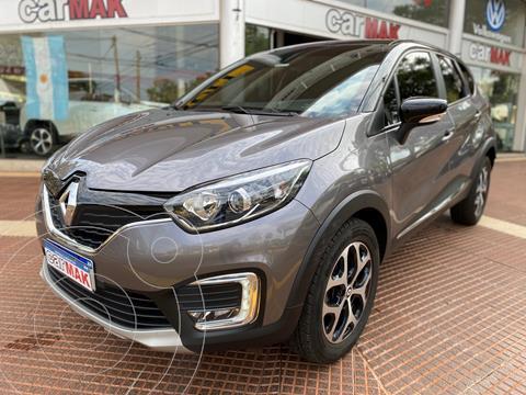 Renault Captur Intens 1.6 CVT usado (2020) color Gris financiado en cuotas(anticipo $1.800.000)