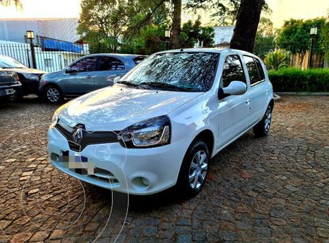 Renault Clio Mio 5P Confort Pack Sat usado (2016) color Blanco precio $930.000