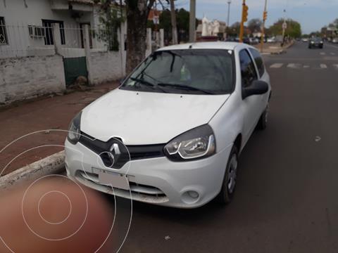 Renault Clio Mio 3P Confort usado (2014) color Blanco Glaciar precio $880.000