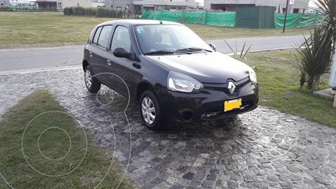 Renault Clio Mio 5P Confort Pack Sat usado (2016) color Negro precio $815.000
