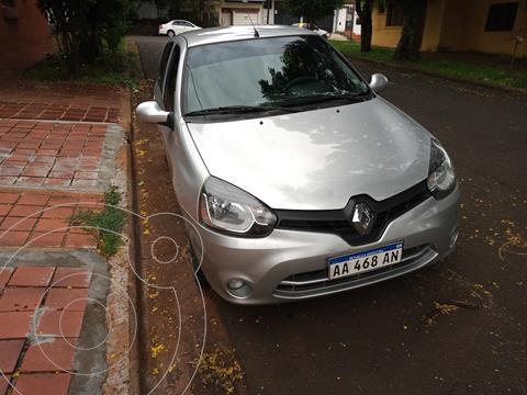 Renault Clio Mio 5P Confort Pack Sat usado (2016) color Plata precio $780.000