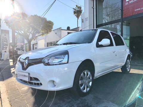 Renault Clio Mio 3P Confort Pack Sat usado (2016) color Blanco Glaciar financiado en cuotas(anticipo $500.000)