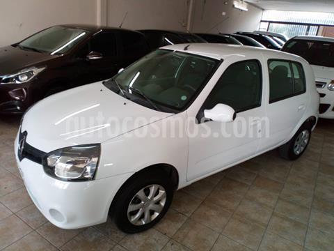 Renault Clio Mio 5P Dynamique Sat usado (2016) color Blanco precio $705.000
