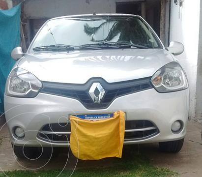 Renault Clio Mio 5P Confort Pack Sat usado (2016) color Gris precio $850.000