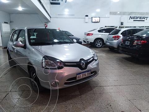 Renault Clio Mio 5P Dynamique Sat usado (2016) color Gris Claro precio $890.000