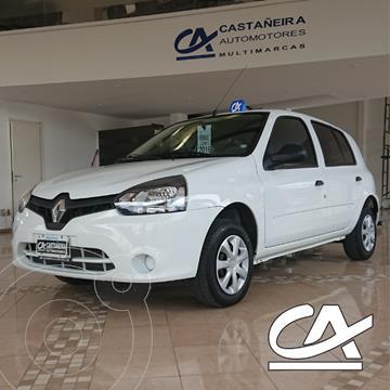 Renault Clio Mio 5P Dynamique Sat usado (2016) color Blanco precio $759.000
