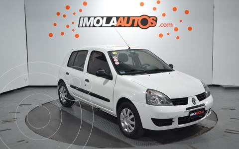Renault Clio 5P 1.2 Authentique Pack I usado (2012) color Blanco Glaciar precio $690.000