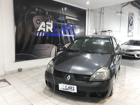 Renault Clio 3P 1.2 Bic Yahoo! Authentique usado (2005) color Negro financiado en cuotas(anticipo $300.000)