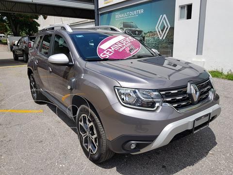 Renault Duster ICONIC CVT usado (2021) color Gris precio $365,000