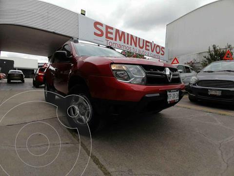 Renault Duster 5 PTS ZEN, TM6, A/AC, VE DEL, MP3, R-16 usado (2018) color Rojo precio $229,800