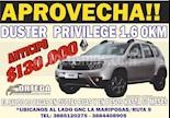 Foto venta Auto usado Renault Duster Privilege 2.0 (2018) color Gris Claro precio $590.800