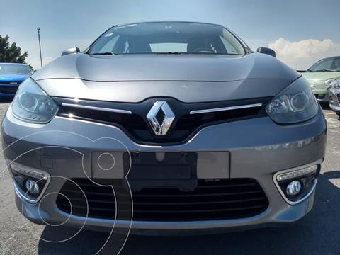 Renault Fluence Expression CVT usado (2017) color Gris Tormenta financiado en mensualidades(enganche $35,580)