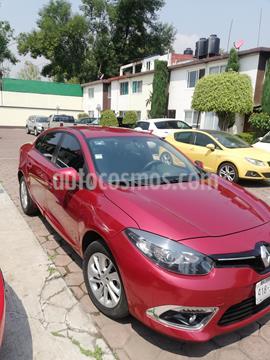 Renault Fluence Expression CVT usado (2015) color Rojo precio $125,000